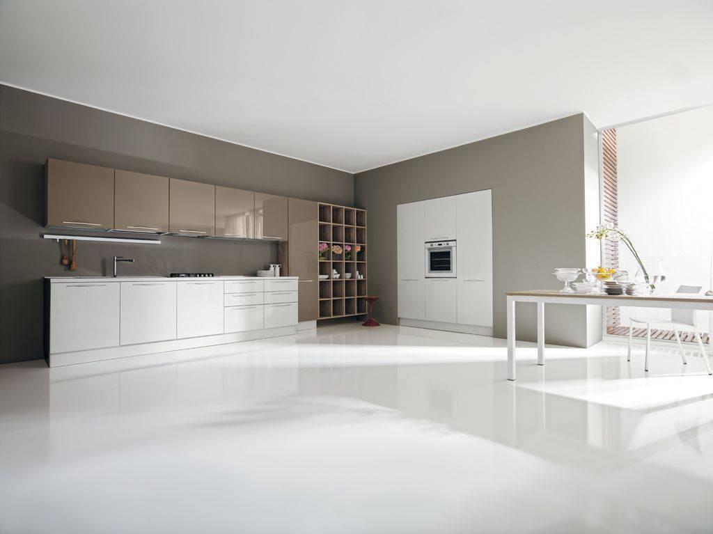 Cucine bianco e tortora la scelta giusta variata sul for Harte arredamenti