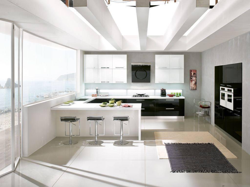 Trittico con piano in marmo for Cucine moderne harte