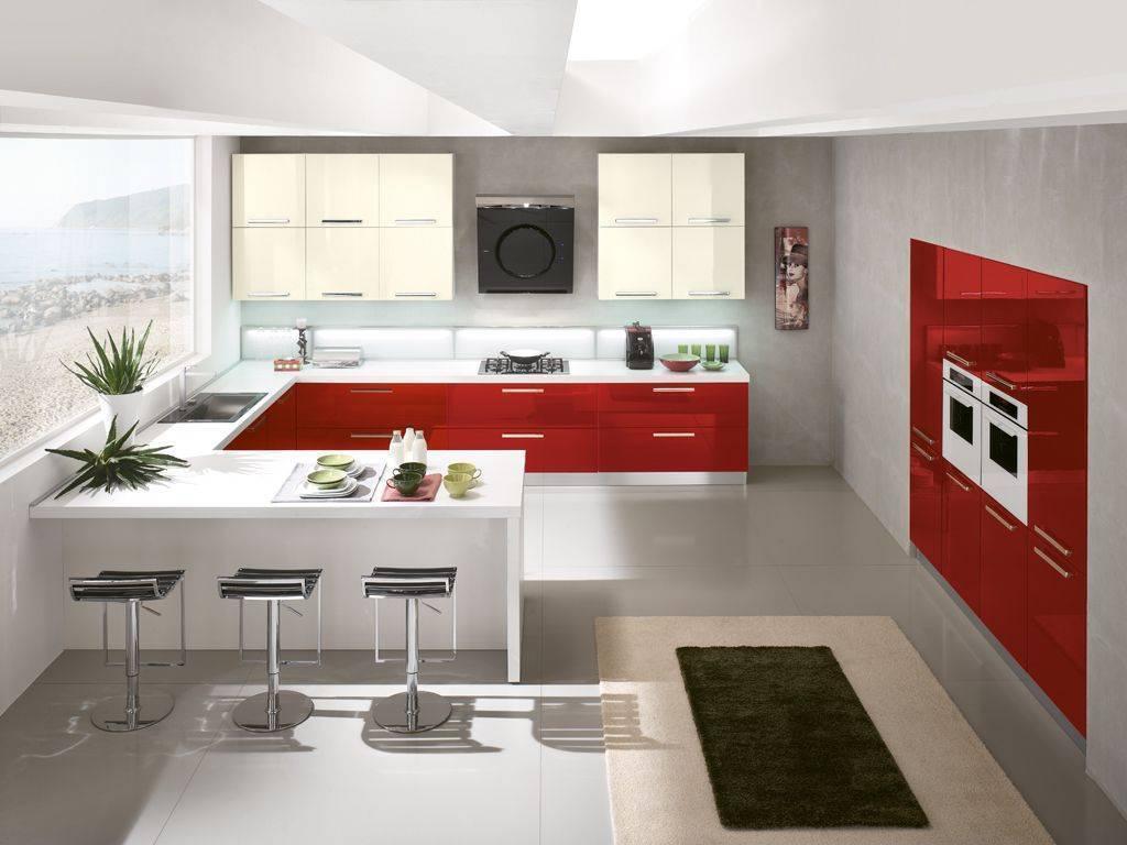 Cucine ad angolo con isola cucina angolo in olmo progetto - Cucine ad angolo usate ...