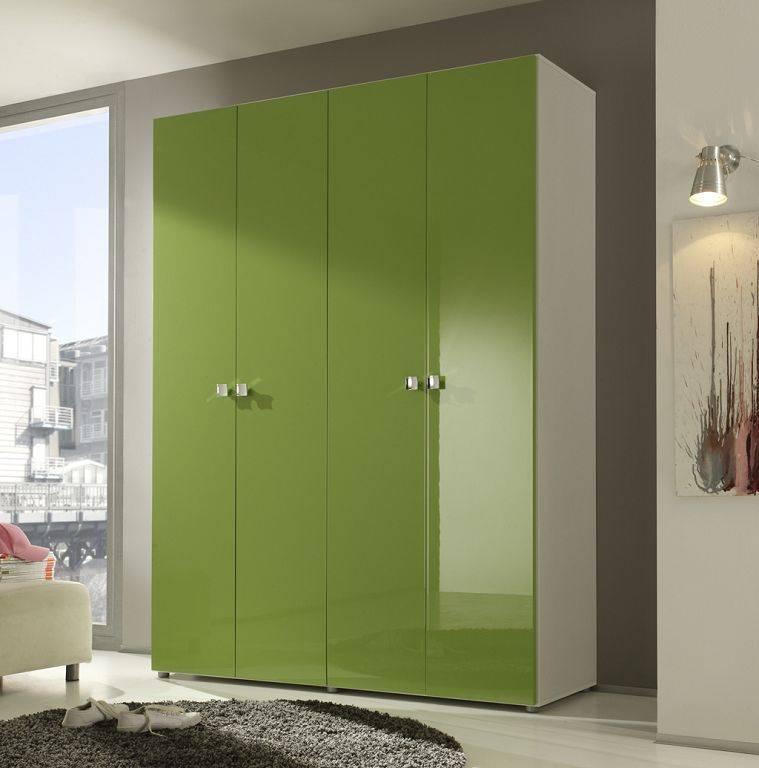 camere singole moderne verdi : ENEA. Armadio moderno, battente, a 4 ante, con struttura laccata ...